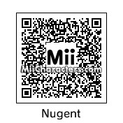 QR Code for Ted Nugent by Eric
