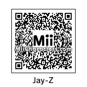 QR Code for Jay-Z by Gary Gnu