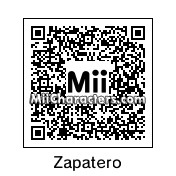 QR Code for Jose Luis Rodriguez Zapatero by adrysg