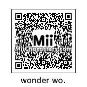 QR Code for Wonder Woman by isur
