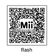 QR Code for The Flash by isur