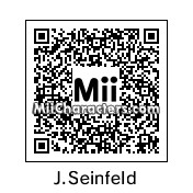 QR Code for Jerry Seinfeld by Joey