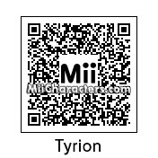 QR Code for Tyrion Lannister by Andy Anonymous