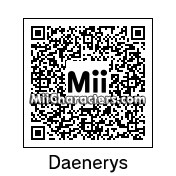 QR Code for Daenerys Targaryen by Andy Anonymous