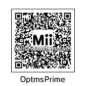 QR Code for Optimus Prime by B1LL