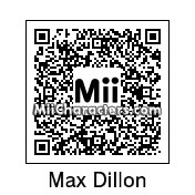 QR Code for Max Dillon by robbieraeful