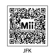 QR Code for John F. Kennedy by Andy Anonymous