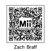 QR Code for Zach Braff by dave