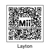 QR Code for Professor Layton by SkinnyCat