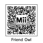 QR Code for Friend Owl by D. Maria