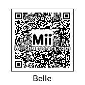 QR Code for Belle by RosaFlora774
