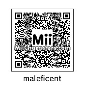 QR Code for Maleficent by isur
