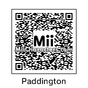 QR Code for Paddington Bear by D. Maria