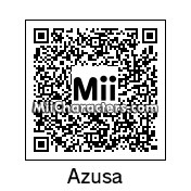 QR Code for Azusa Nakano by Bobby64