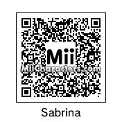QR Code for Sabrina by Pixellus