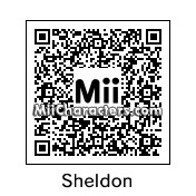 QR Code for Sheldon Cooper by Tocci