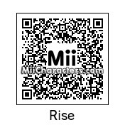 QR Code for Rise Kujikawa by ZombyGoast