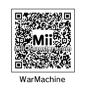 QR Code for War Machine by gmandres79