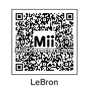 QR Code for Lebron James by Srirachacha