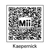 QR Code for Colin Kaepernick by Srirachacha
