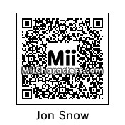 QR Code for Jon Snow by deonidas