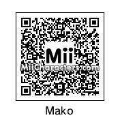 QR Code for Mako Mankanshoku by Hoogomoogo