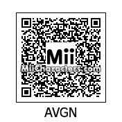QR Code for Angry Video Game Nerd by DavMertzHand