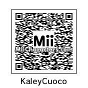 QR Code for Kaley Cuoco by celery