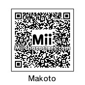 QR Code for Makoto Mikami by Fuukun
