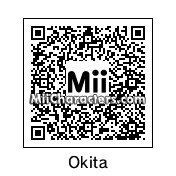 QR Code for Souji Okita by Fuukun