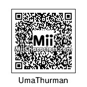 QR Code for Uma Thurman by celery
