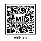 QR Code for Akihiko Sanada by Fuukun