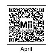 QR Code for April O'Neil by Ultra