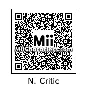 QR Code for Nostalgia Critic by Cjv95