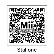 QR Code for Sylvester Stallone by Ali