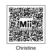 QR Code for Christine Chapel by daniandan