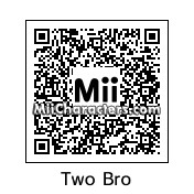QR Code for Two Faced Boy by Lum