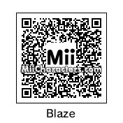 QR Code for Blaze the Cat by Nichoas
