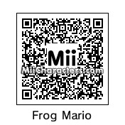 QR Code for Frog Mario by Nichoas