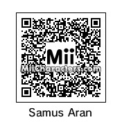 QR Code for Samus Aran by Cjv95