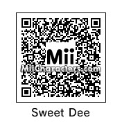 QR Code for Sweet Dee by Popgous