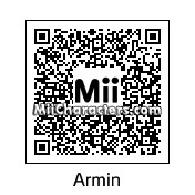 QR Code for Armin Arlert by Popgous