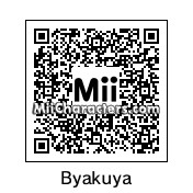 QR Code for Byakuya Kuchiki by stinaj68