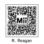 QR Code for Ronald Reagan by Gary Gnu