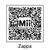 QR Code for Frank Zappa by Ajay