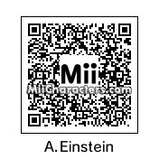 QR Code for Albert Einstein by Adamjohn94