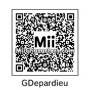 QR Code for Gerard Depardieu by lila