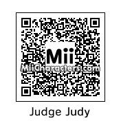 QR Code for Judge Judith Sheindlin by Aryam