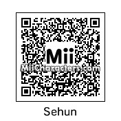 QR Code for Sehun by Slurpuff