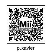 QR Code for Professor Xavier by quibie
